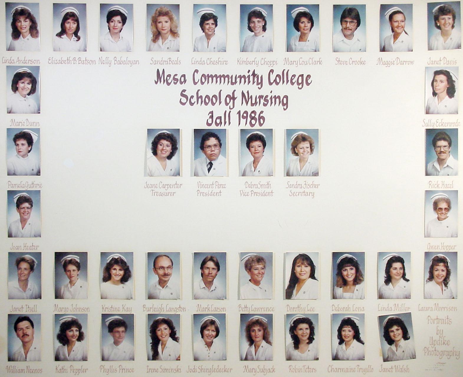1980s  Nursing  Mesa Community College