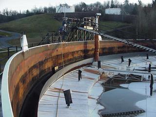 Mesa drenajes para cpulas sistemas de desnatado tubos