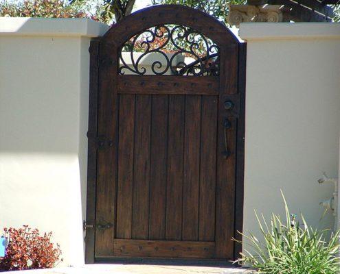 Mesa Wood Gates  Custom Wood Gates For Driveways  Home Entry