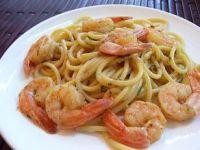 Spaghete cu ton şi creveţi