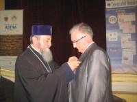 Cindrea a primit Crucea Şaguniană