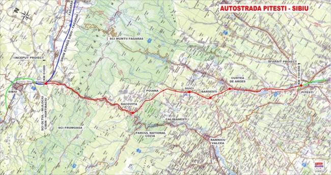 """Autostrada Sibiu-Pitești a fost """"întotdeauna"""" o prioritate, susține ministrul Transporturilor"""