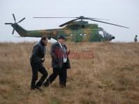 Elicopterul prăbușit la Mălâncrav va fi dus la Câmpia Turzii pentru expertizare. Esteposibil ca aparatul să fi cedat