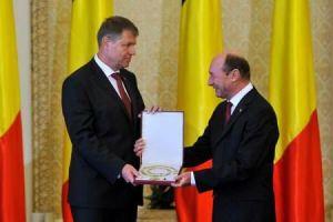 Iohannis si Basescu