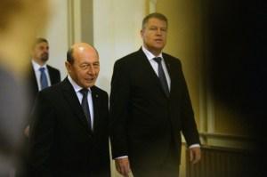 Iohannis și Băsescu s-ar putea întâlni, în această după-amiază, la Cotroceni | foto: psnews.ro