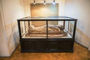 Mumia egipteana de la Muzeul Franz Binder