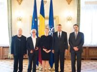 Organizatorii unora dintre cele mai importante festivaluri românești au primit, din partea președintelui Klaus Iohannis, însemnele Înaltului Patronaj | foto: Administrația Prezidențială