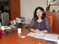 Conf. univ. dr. Angela BĂNĂDUC, decanul Facultății de Științe din cadrul ULBS