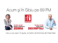 RFI România se lansează la Sibiu, pe 89 FM