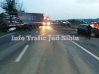 Accident grav pe DN 7
