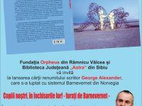 Carte despre Barnevernet, lansată la Sibiu