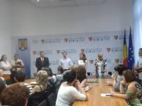 Ședință cu angajații și conducerea Consiliului Județean Sibiu   foto: arhiva Mesagerul de Sibiu