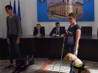 Liber acces pentru câinele-ghid al nevăzătorilor