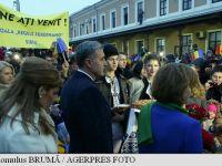 Sute de sibieni au întâmpinat trenul regal cu aplauze și au strigat numele Regelui Mihai