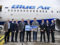 Blue Air inaugurează ruta Cluj-Napoca – Birmingham (P)