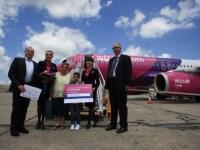 Wizz Air deschide noi rute de la Cluj şi triplează zborurile spre Londra de pe Aeroportul Avram Iancu