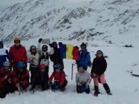 Sibianul Teodor Tulpan, primul alpinist român care a ajuns pe Everest, a protestat în vârf de munte