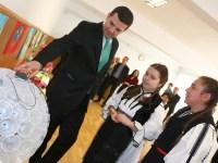 Copiii din Poplaca, felicitați de ministrul Mediului și comisarul general al Gărzii de Mediu