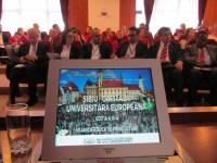 ULBS a datstartul programului Sibiu – Capitală Universitară Europeană