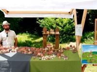 Meșteri populari din România și Republica Moldova expun la Târgul Național de Jucării de la Sibiu