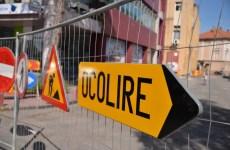 Închiderea temporară a circulației în cartierul Ștrand