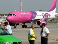 Avion Wizz Air cu probleme tehnice, întârziat o noapte la Sibiu