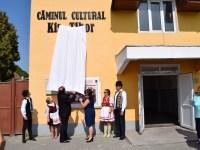 Căminul cultural din Copșa Mică a primit numele unui fost consilier local