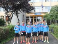 "Fotbaliștii echipei FC Hermannstadt au evoluat pe terenul Școlii Gimnaziale ""Nicolae Iorga"" din Sibiu | FOTO"