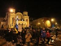 Peste 5.000 de sibieni au mărșăluit împotriva revoluției fiscale și a modificării legilor justiției