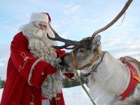 Moș Crăciun se odihnește și anul acesta la Zoo Sibiu