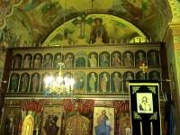 Iconostasul pictat de Smighelschi la biserica din Racovița