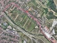 Primăria Sibiu va amenaja un nou sistem de canalizare pluvială pe strada Podului, cu fonduri guvernamentale