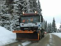 Circulație în condiții de iarnă, fără blocaje