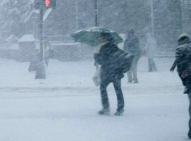 ALERTĂ de ninsori, vânt și viscol în județul Sibiu
