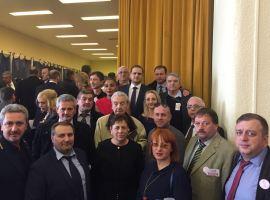 Delegații organizației județene PSD Sibiu la congres