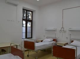 Depistat cu COVID-19, un bărbat s-a aruncat de la etaj în Spitalul de Pneumoftiziologie Sibiu