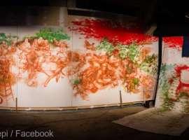 Un fost component al trupei Phoenix expune artă contemporană la Sibiu