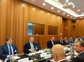Situația germanilor din Sibiu, discutată la Berlin
