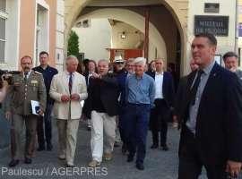 Prințul Charles a vizitat Sibiul
