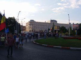 Mii de sibieni pe străzi, după condamnarea lui Dragnea