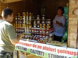 Bunătăți din Hunedoara la Târgul de țară