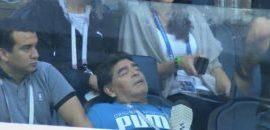 Maradona, dus la spital după victoria care a calificat Argentina în optimile Mondialului