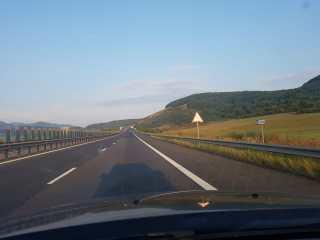 Indicatoare noi pe autostradă