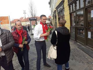 Liderii organizațiilor municipale din Sibiu și Mediaș, pe lista candidaților PSD la europarlamentare