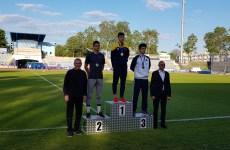 Atletul sibian Tudor Arsin a adus României o medalie la primul său concurs internațional