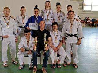 Studenții ULBS au obținut o medalie de argint la Campionatul Național Universitar de Judo