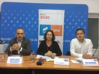 Alianţa 2020 USR PLUS şi-a propus obţinerea unui scor de 30% la Sibiu