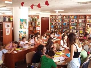 BiblioVacanța a început la Biblioteca ASTRA Sibiu cu multă veselie și public numeros