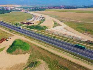 Lucrările la autostrada Sebeș-Turda bat pasul pe loc. 17 km promiși anul acesta, dați circulației anul viitor