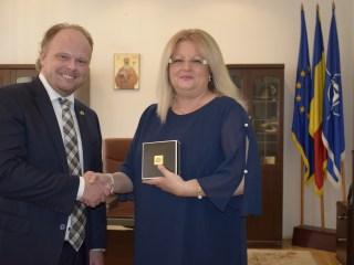 Ambasadorul Canadei: Sibiul este un județ în care îți dorești să te stabilești și să îți crești copiii